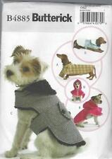 Butterick patrón de costura abrigos perro osz b4885