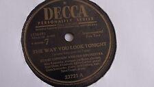 Eddie Condon - 78rpm single 10-inch – Decca #23721 The Way You Look Tonight