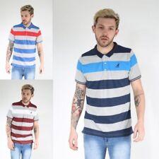 Unbranded Short Sleeve Striped T-Shirts for Men