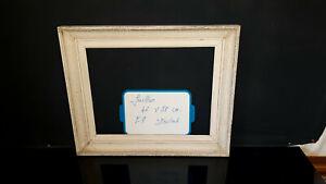 cadre bois style montparnasse 50/60  8F pour tableau peinture 46 x 38 cm ref 118