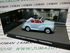JB128 voiture 1/43 IXO 007 JAMES BOND Angleterre : Morris MINOR convertible