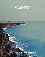 FECAMP Cité des Terre-neuvas affiche création KLEINER sur plexi premium galerie