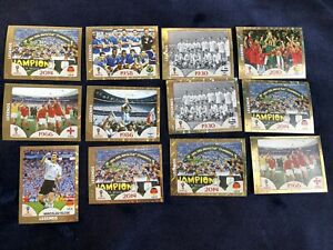 Panini World Cup 2018 - Legends foil stickers x 12 (Klose, 1966, 1986, 1958 etc)