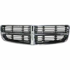 For Charger 06-10, CAPA Grille, Chrome Shell w/ Gray Insert, Plastic