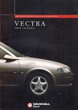 Vauxhall Vectra 1997 Model Year Improvements UK Fleet Market Sales Brochure