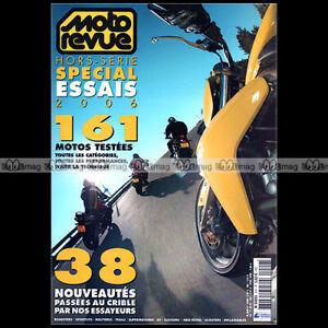 MOTO REVUE HORS-SERIE HS SE09 ★ SPECIAL ESSAIS 2006 ★ TEST 161 MODELES