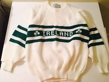 Quills Woolen Market Ireland Wool Sweater Size Medium