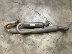 Porsche 911 Triad performance muffler 2 in 1 out handcrafted Very Rare