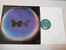 LP JAZZ Gary Burton/Chick Corea-DUET (9 chanson) ECM