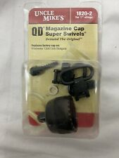 Uncle Mikes Quick Detach 12 Gauge Magazine Cap & Swivel Set 18202