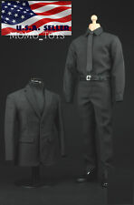 1/6 Men Agent Business Suit Set For Phil Coulson SHIELD Hot Toys Male Figure USA