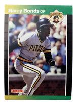 Barry Bonds Donruss Baseball Trading Card 1989 # 92 Pittsburgh Pirates