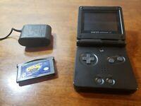 NINTENDO Gameboy Advance Black GBA (tested, works)