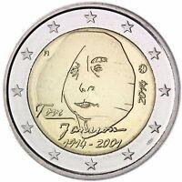 Finnland 2 Euro Münze Geburtstag von Tove Jansson 2014 Gedenkmünze unzirkuliert
