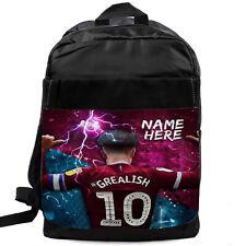 GREALISH Backpack School Bag Villa Sport Football Bag Personalised NL05