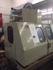 1990 BRIDGEPORT INTERACT 316 FANUC OM 6000 RPM 8 ATC 40 TAPER 18X12X18 Collets