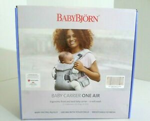 BabyBjorn Multi-Position Baby Carrier  One Air    Pearly Pink