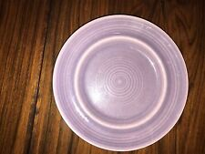 "Vintage Metlox COLORSTAX Lilac Purple 6 1/2"" Bread Plate CA Pottery China"