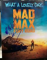Tom Hardy Mad Max Autographed Signed 11x14 Photo RACC NYC