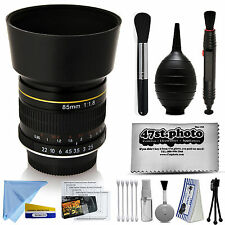 Super Focus 85mm f/1.8 Manual Medium Lens for Sony Alpha E-Mount Camera