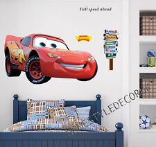 XLarge Lightning Mcqueen Disney Cars Wall Stickers Children Bedroom Decal Decor