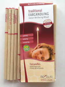 BIOSUN TRADITIONAL EAR CANDLES - Ten Pairs, Made in Germany