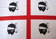 Bandiera Sardegna, Bandiera Sarda 140x100 cm. Bandiera dei 4 Quattro Mori NUOVA