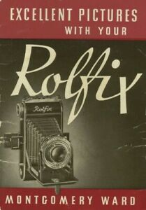 Rolfix Montgomery Ward Instruction Manual Original
