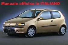 Fiat PUNTO 2° Seconda serie (188) Mk2 Manuale Officina ITALIANO SU CD