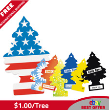 72 Little Trees Hanging Air Freshener Mix Magic Trees Scent - $1.00/tree