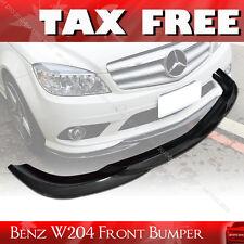 SHIP FROM LA- Carbon Mercedes BENZ W204 Godhand 08-11 Bumper Front Lip Spoiler