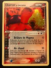 Carte Pokemon CHARTOR 12/95 Holo Team Aqua vs Magma Bloc EX Française NEUF
