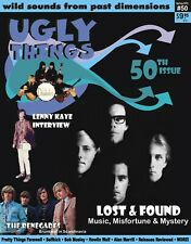 UGLY THINGS Magazine #50 Howlin Wolf, Lenny Kaye, Patti Smith, Moby Grape, Doors