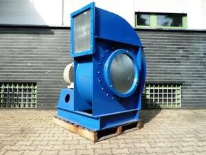 Radialventilator Lüftung Absauglüfter Ventilator Gebläse Siemens 55 kW 30 tcbm/h