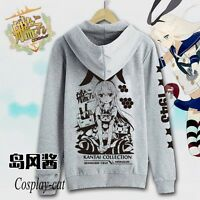 Kantai Collection Shimakaze Sweater Coat Hoodie Causal Top