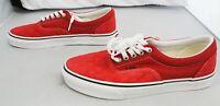 Vans Unisex Deboss Checkerboard Era Shoes BF5 Red Size M:7.5 W:9 WN0A4U39WJ2