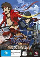 Sengoku Basara - Samurai Kings Complete Collection (Season 1+2+Movie) NEW R4 DVD