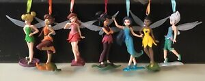 DISNEY TINKERBELL AND FRIENDS TREE DECORATIONS