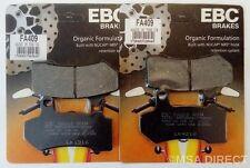 Harley Davidson Electra Glide (08 to 17) EBC Organic FRONT Brake Pads (FA409)