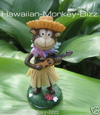 "NEW!!! ~ ""MINI - HAWAIIAN HULA DASHBOARD MONKEY DOLL""! ~ 4 INCHES TALL!"