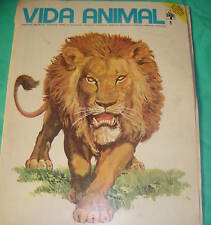 Animal Life pulp illustrated Lion #1 Baboon Wolverine !