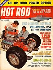 HOT ROD MAY 1961,FULL PICTURES&COVERAGE WINTERNATIONALS&DAYTONA,,HOTROD MAGAZINE