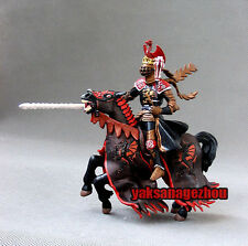 Papo Word of Knights Tournament Black Dragon Knight Toy Figure Figurine