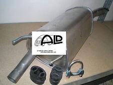 Auspuff Endtopf für OPEL CORSA B 1,0 i 12V 3 Zylinder 40kW 54PS mit Anbauteilen