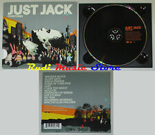 CD JUST JACK Overtones 2007 EU MERCURY 0600753026014 no lp mc dvd vhs