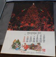 1978 Coca-Cola Calendar Complete