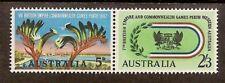 AUSTRALIA 1962 BRITISH EMPIRE GAMES 5d & 2/3d Se-Tenant PAIR MNH
