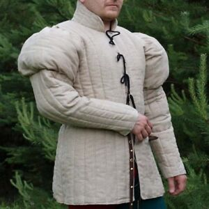 Arthur Thick Padded Gambeson costumes suit of armor for theater