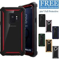 For Samsung Galaxy S8 S9 S10 Plus Shockproof Hybrid Rugged Protective Case Cover