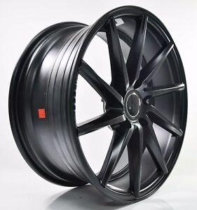 4pcs VOSSEN CVT 20 inch mags WHEELS F9J R10J 5X114.3/5X120 FLAT BLACK 175/177-2